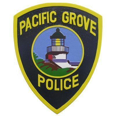 pacific grove police patch plaque 269070509