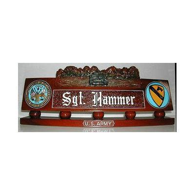us army desk nameplate army tank design 2