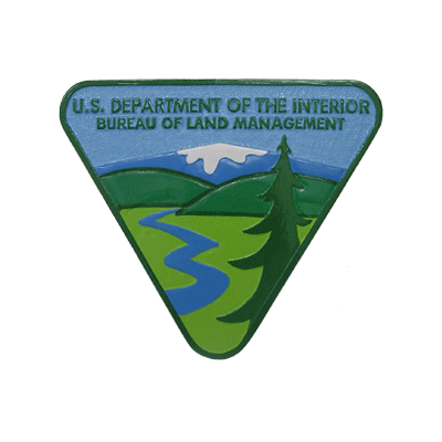 us_department_of_the_interior_bureau_of_land_management_plaque