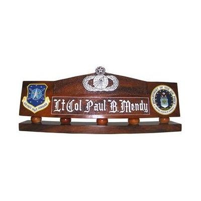 usaf acquisition and financial desk nameplate