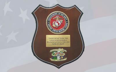 How to Design Presentation Plaques