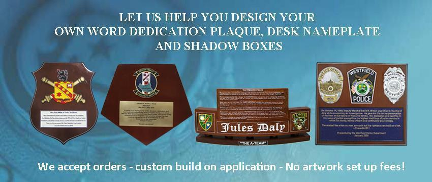 3056baa716d Wording for Dedication and Going Away Plaque